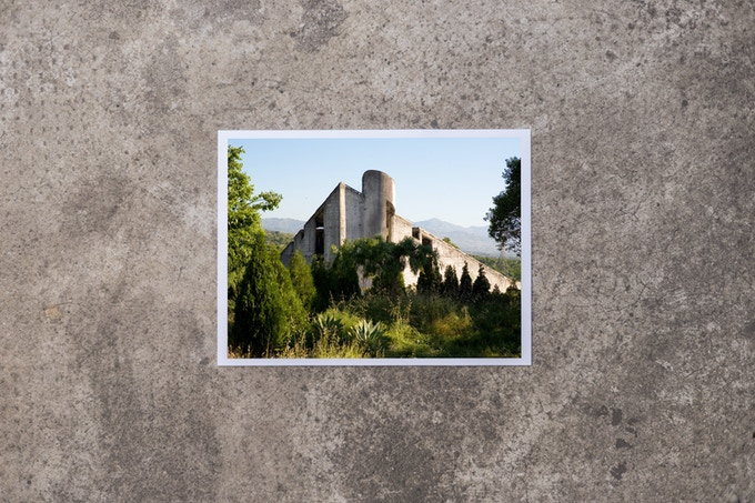 Greetings from Giarre, postcard