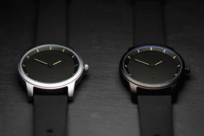 Both watches available at the $20,000 funding goal.