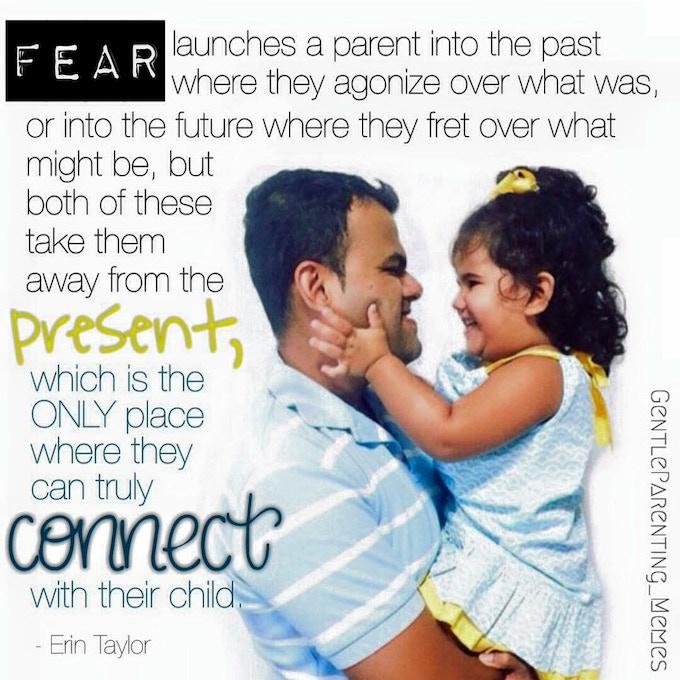 Featuring: Parent Coach, Author - Erin Taylor (quote) & Instagrammer @laurenisma (image)