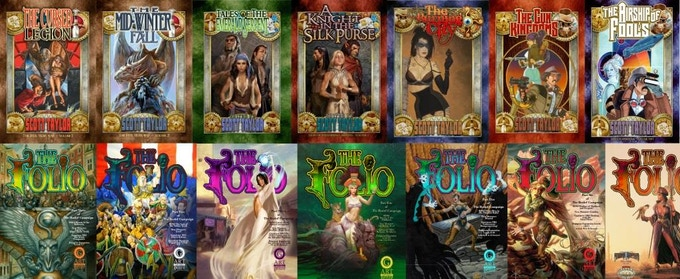 Some of the great works we've already produced on Kickstarter
