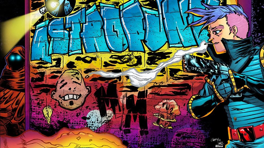Astropunk: Murder on Mars #2 project video thumbnail