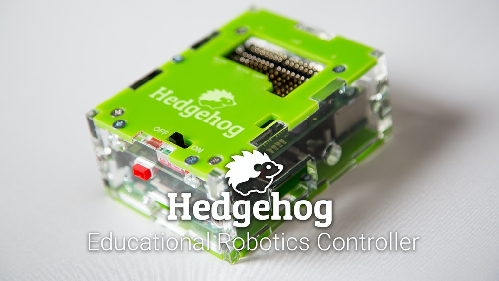 Hedgehog – The versatile educational robotics controller project video thumbnail