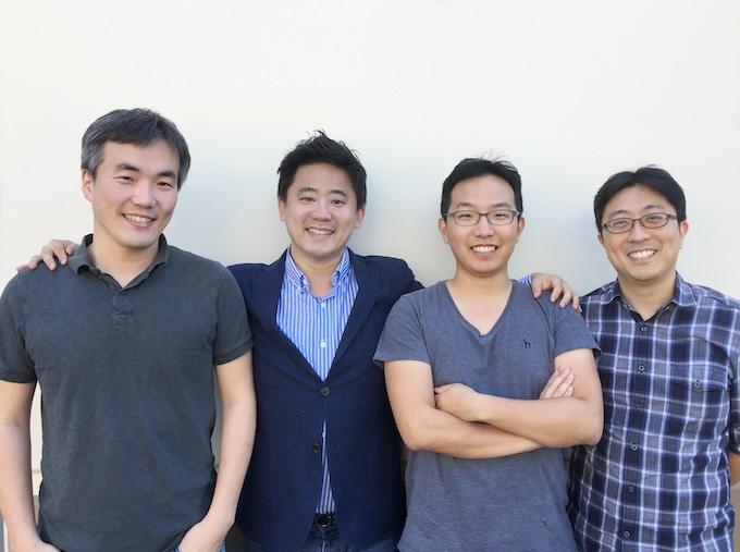 Stratio's Co-founding Team: Yeul Na, Jae Hyung Lee, Wooshik Jung, and Youngsik Kim