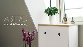 Astrid – A recycling system with Nordic Design