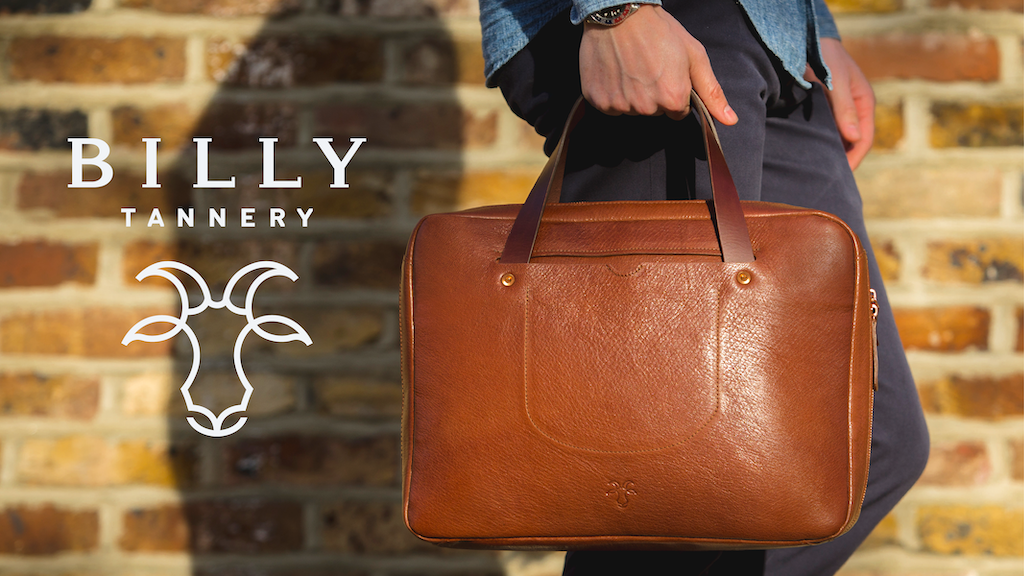 Billy Tannery: The First British Goat Leather Goods project video thumbnail