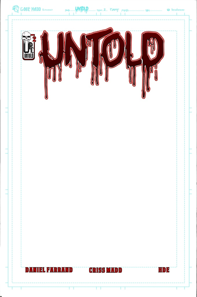 Variant cover - Blank