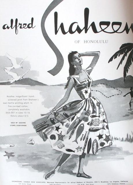 The Inspiration: '50s Hawaiian Shaheen Dress
