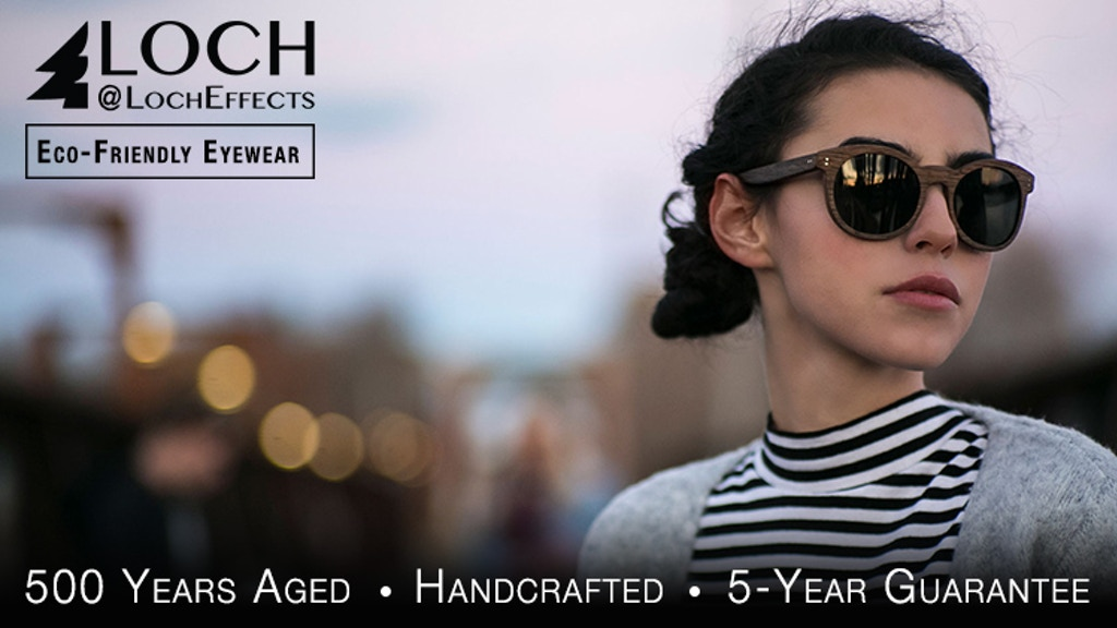 LOCH | Sunglasses from 500 Years-Aged Water Recovered Wood project video thumbnail