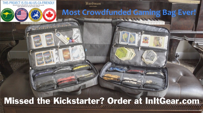 Tabletop game bags, cases, and accessories to make playing, transporting, storing and protecting your games easy peasy. InIt to Win It!