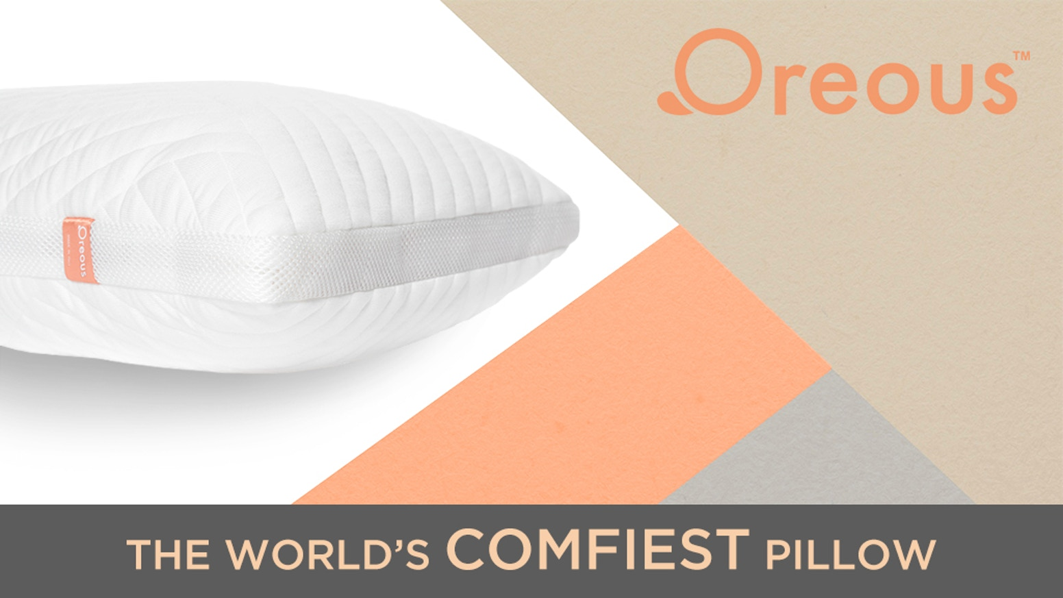 the oreoustm pillow by mark reissi kickstarter With comfiest pillow in the world