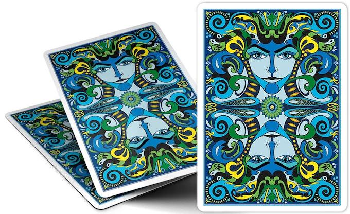 VIZAĜO - Lumino (blue) card back