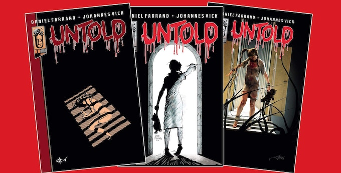 Untold #1 covers