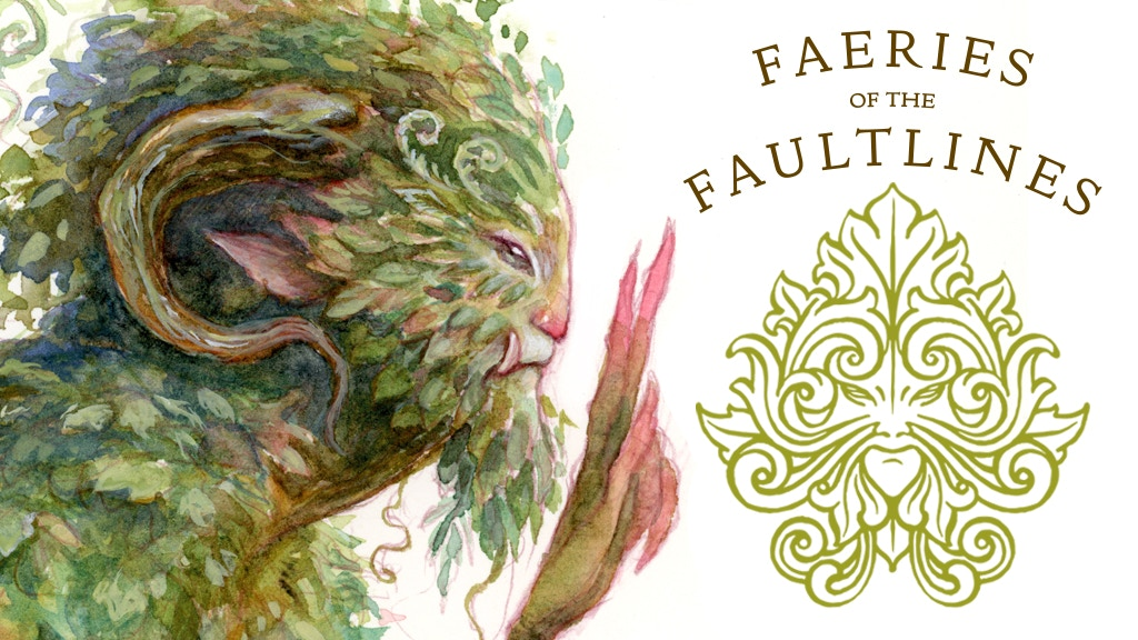 Faeries of the Faultlines - an art book by Iris Compiet