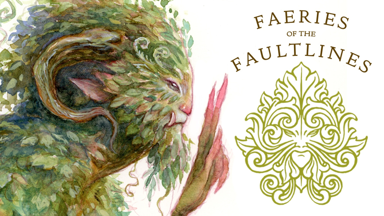 Step into the Faultlines, a world filled with faeries and creatures from the Other World in this illustrated art book by Iris Compiet
