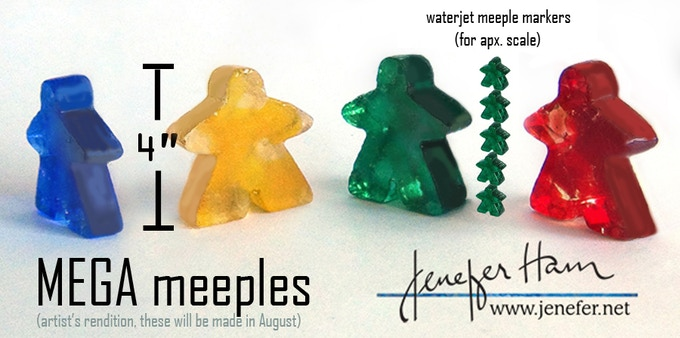 Supersize your meeples!