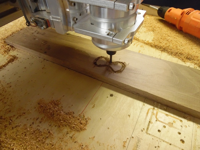 Our CNC cutting a  New Project