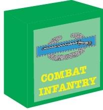 Combat Infantry Badge Turn Marker