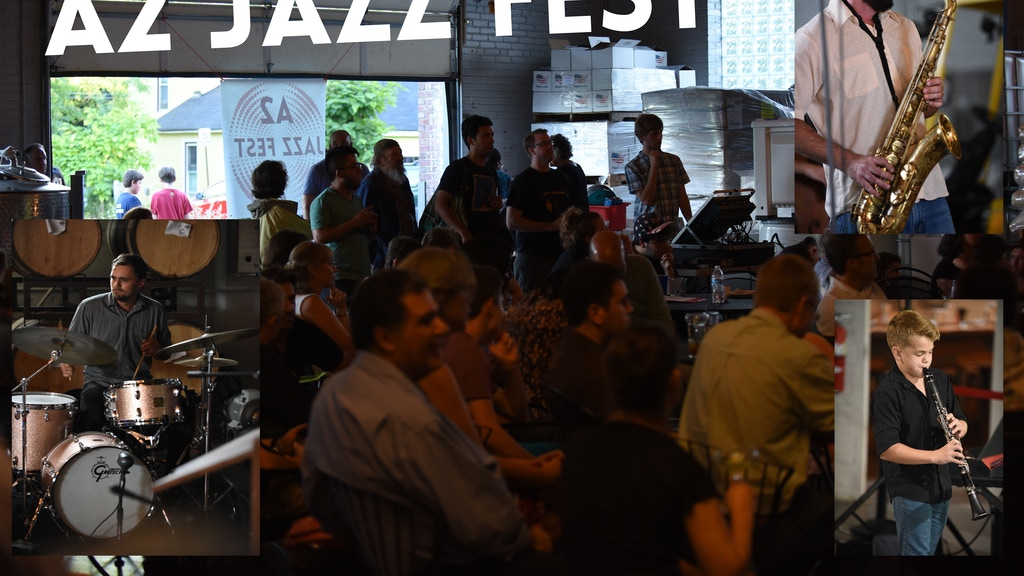 A2 JAZZ FEST Sept 8-9, 2017 Ann Arbor Distilling Co. Free! project video thumbnail