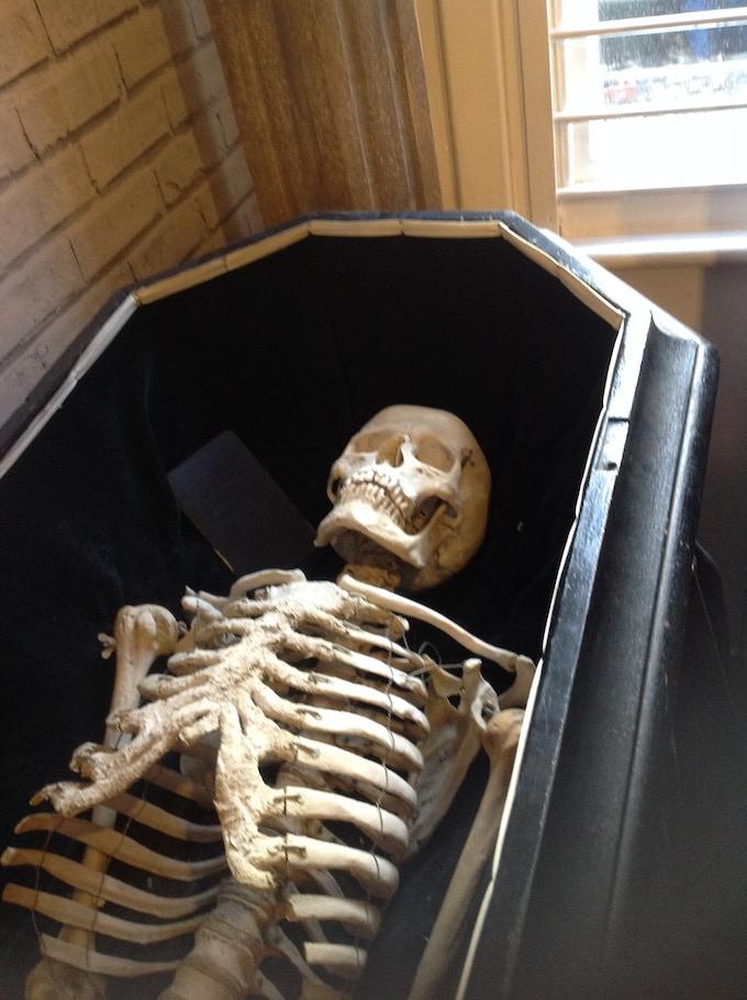 Antique Oddfellows Skeleton (Uncle Charlie)