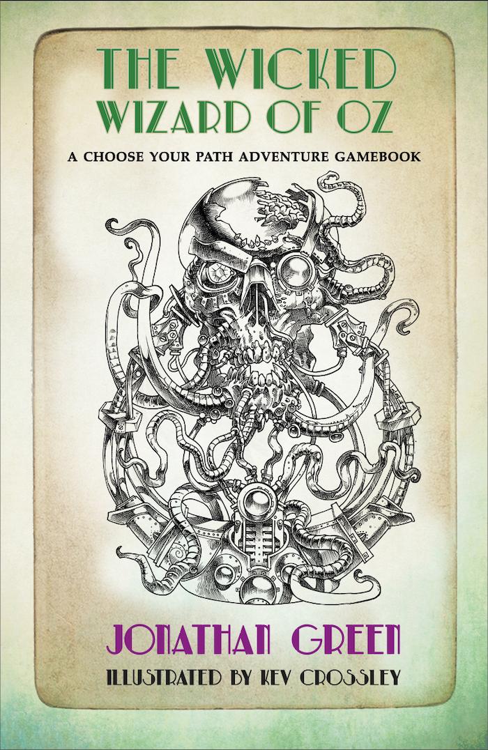 A nightmarish solo-RPG gamebook inspired by 'The Wonderful Wizard of Oz' by L. Frank Baum, but with a dark Dieselpunk twist.