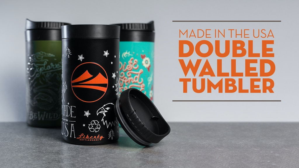 Double-Walled Tumbler, Made in the USA project video thumbnail