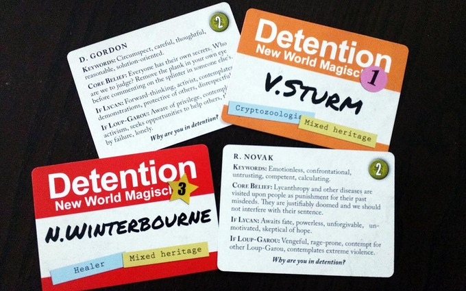 No one is exempt from Detention: all Houses, paths, heritages represented.
