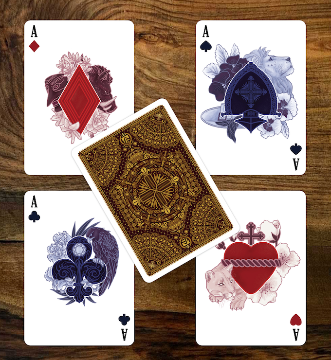 The Three Musketeers Playing Cards Aces