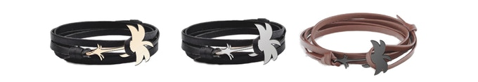 If we manage to reach our 3rd stretch goal, everyone that pledge for TITAN sunglasses will recieve a stylish leather anchor bracelet for free. Let's get there together!
