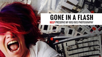 GONE IN A FLASH: Help Preserve 80s/90s Photo Collection