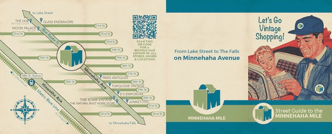 There are now a dozen shops along Minnehaha that offer reused product as part or all of their retail assortment.