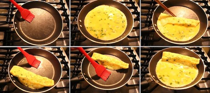 Tamago-yaki (rolled omelette) Recipe