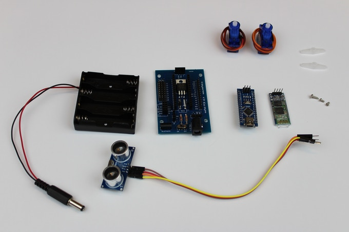 The Parts in the Maker Kit