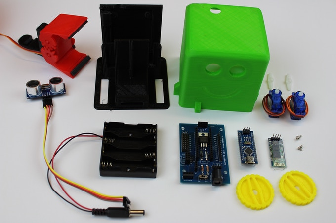 Kit For Quotgetting Started With Electronicsquot Build Electronic Circuits