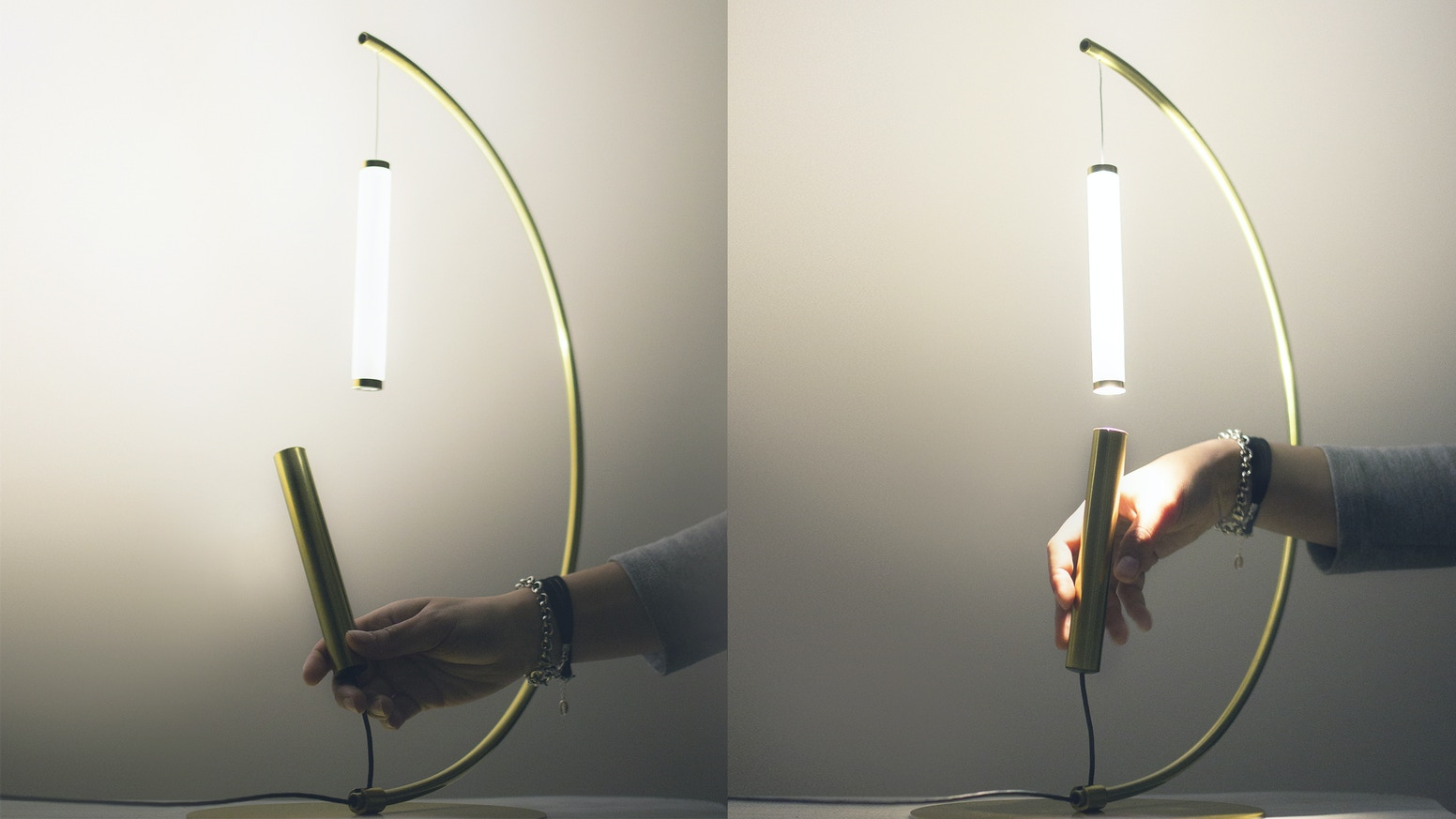 A mind-blowing lamp that plays on gravity and magnetic attraction and creates an intriguing and magic atmosphere in your home