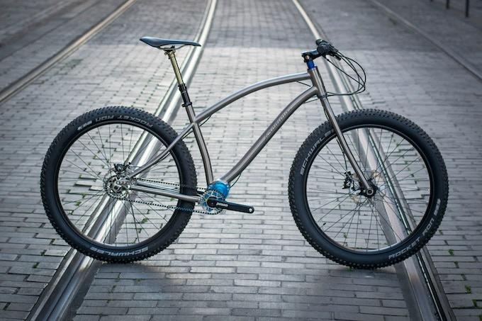 Jeronimo Cycles custom titanium bike