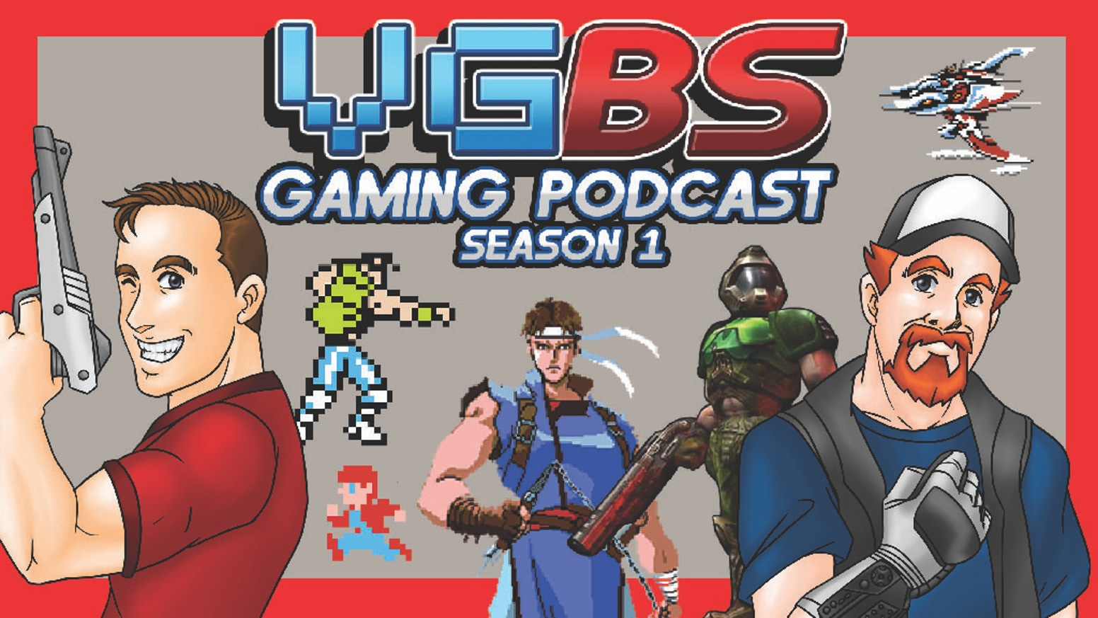 VGBS Gaming Podcast Season 1 is being released physically on USB with a playable NES Cartridge, Box and Manual. Come join the madness!