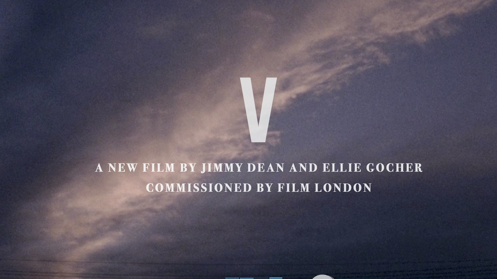 V - A Short Film commissioned by Film London project video thumbnail