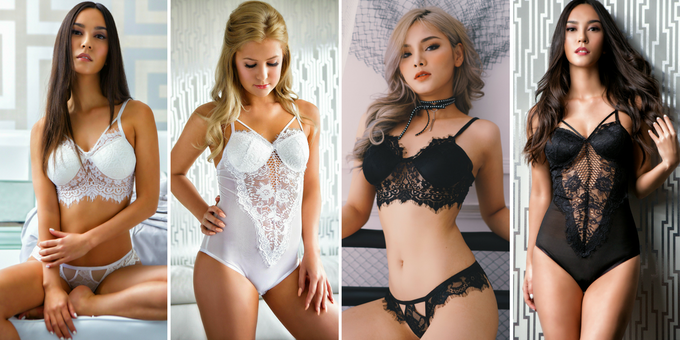 Elite Collection - 1 Premium Bralette and 1 Premium Bodysuit