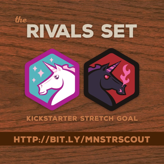 Stretch Goal: the Rival's Set... UNLOCKED!