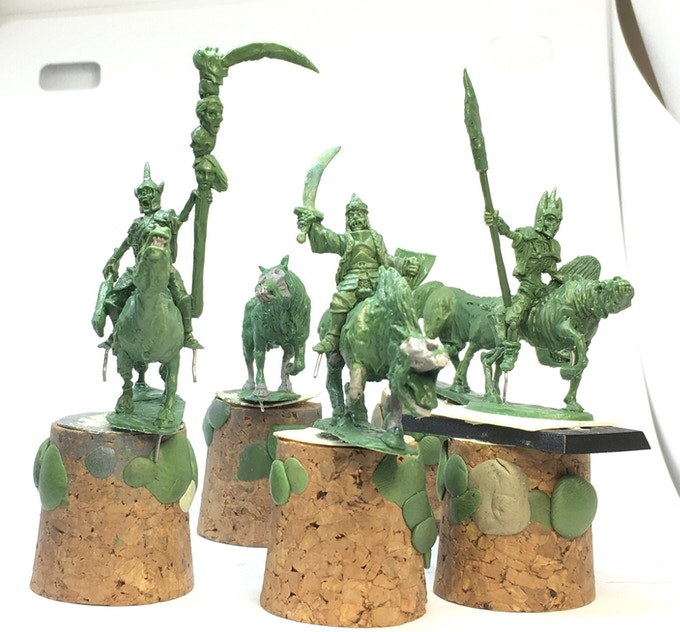 March of the Dead. 28mm Fantasy Undead Miniatures by