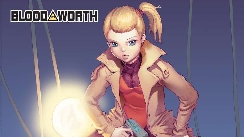 BLOODWORTH Issue #3 project video thumbnail