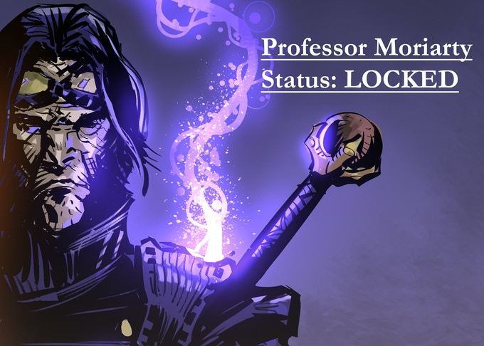 Professor Moriarty, by Anthony Diecidue