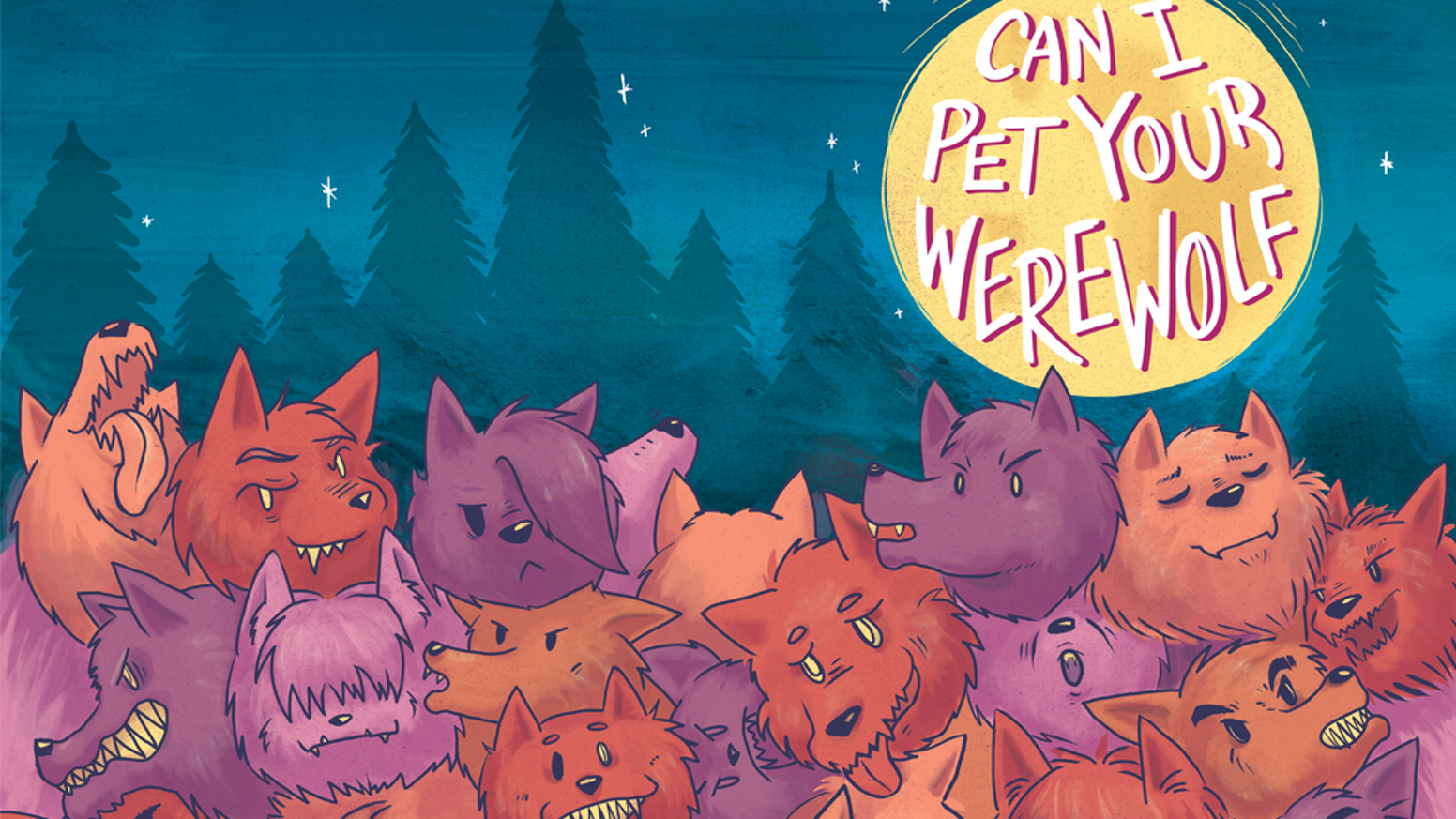 can i pet your werewolf by kel mcdonald community kickstarter