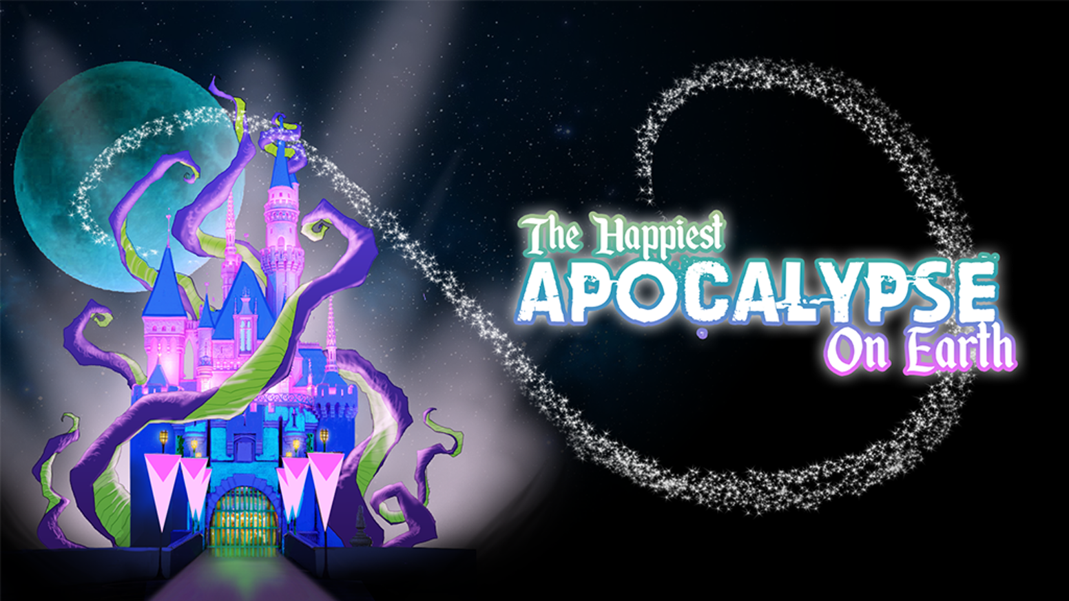 A satirical Lovecraftian horror tabletop roleplaying game set in a children's theme park using the Apocalypse World engine.