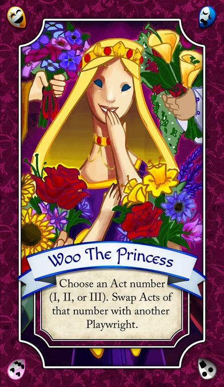 """""""Woo the Princess"""" Play Card"""
