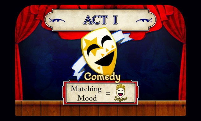 """Comedy Act I"" Card"