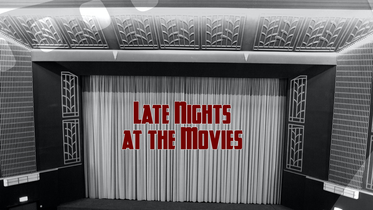 Late Nights at the Movies is a timeless film noir short film set in a cinema. An assassin awaits the messenger from her latest client.