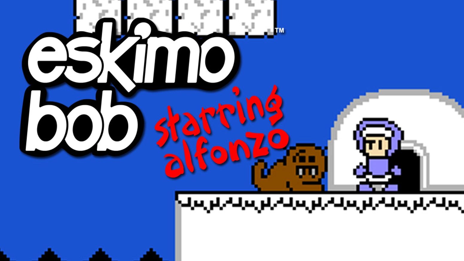 Eskimo Bob is a brand new puzzle-platformer game for play on the Nintendo Entertainment System.