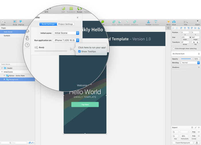 Design-to-code app for Mac that supercharges your mobile dev workflow.
