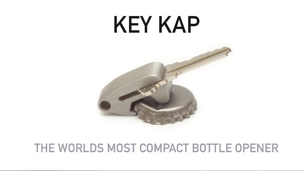 key kap the worlds most compact bottle opener by unvrs design kickstarter. Black Bedroom Furniture Sets. Home Design Ideas